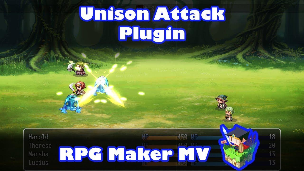 Atelier Irina - Unison Attack - RPG Maker MV