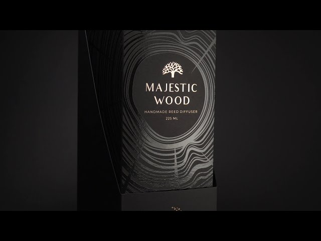Majestic Wood | Home Fragrance 225 ml | Bronze edition video