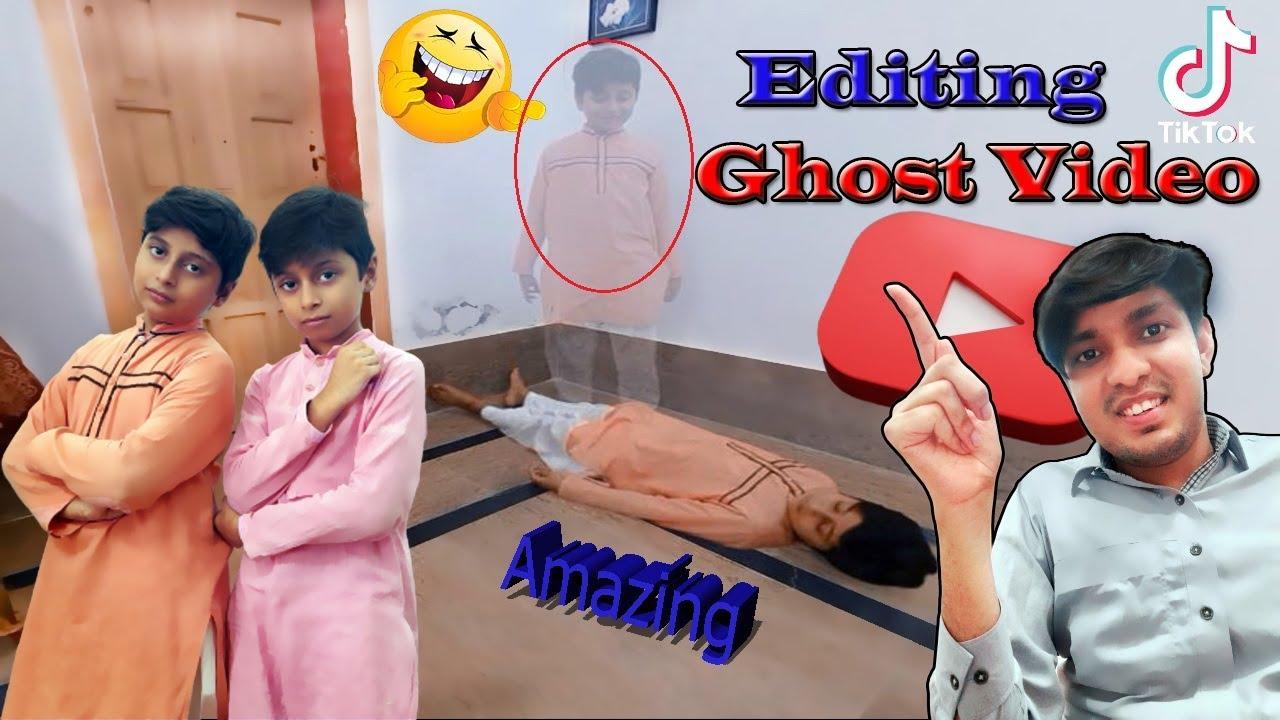 How To Make Ghost Effect  Video || Ghost Effect Tutorial In Hindi-Urdu