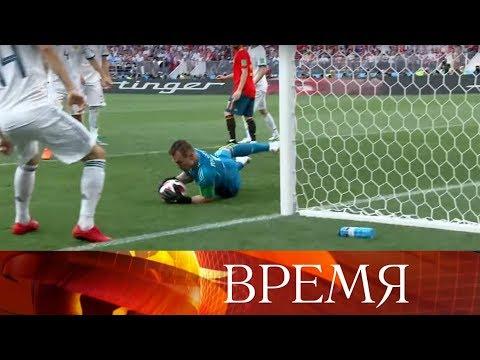 FIFA включила сборную России по футболу в тройку лучших по эффективности ударов по воротам.