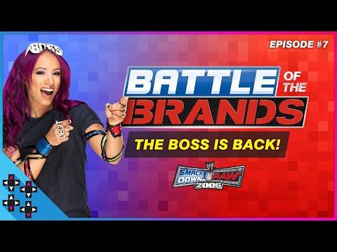 Battle of the Brands #7: SASHA BANKS RETURNS TO UPUPDOWNDOWN! - SmackDown vs. Raw 2006