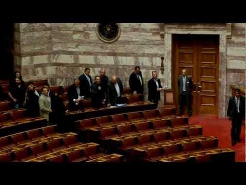 Επεισόδιο με κλέφτες στην Βουλή - ΒΙΝΤΕΟ
