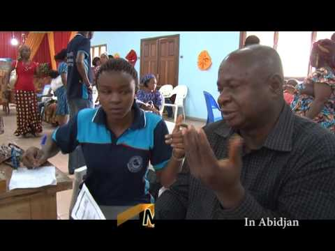SIGHT AND SOUNDS OF RCCG MISSIONARIES VISIT TO  IVORY COAST