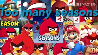 Every Angry Birds Seasons Song part 1