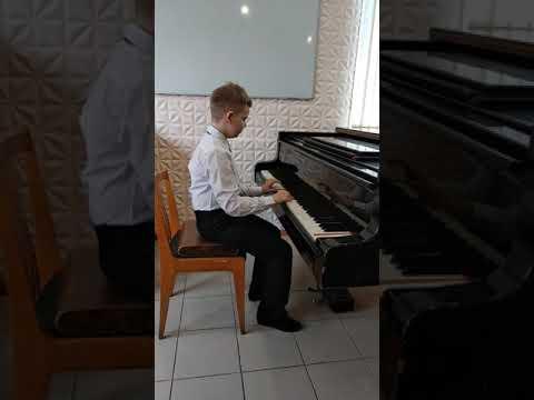 """Егоров Валентин, 9 лет. ДХШИ """"Молодость"""""""