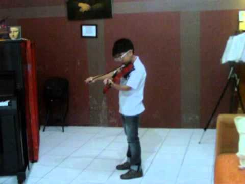 Minuet in G by Bach - Jan Paolo San Juan - The Gifted Artists' Nook