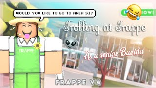 TROLLING THE TROLLERS AT FRAPPE| ROBLOX| Ichelsey