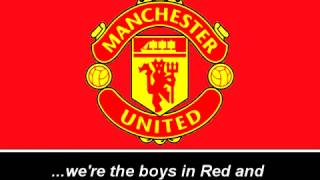 Himno del manchester united/Manchester united