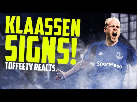 BREAKING NEWS: Davy Klaassen Signs For Everton
