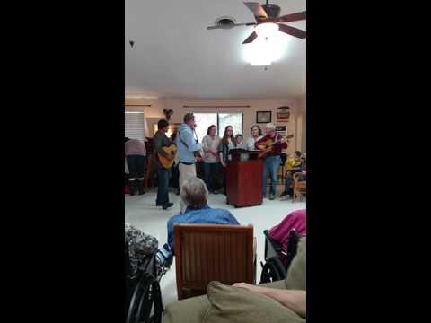 Richard Abbott and Harmony Church group