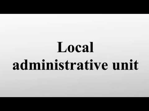 Local administrative unit