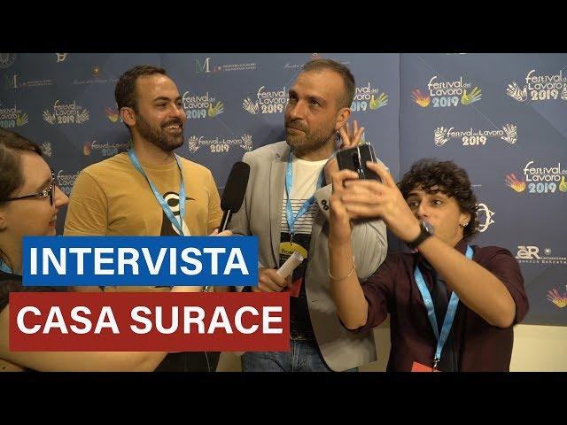 CASA SURACE - La video intervista al festival del Lavoro 2019 - Kongnews