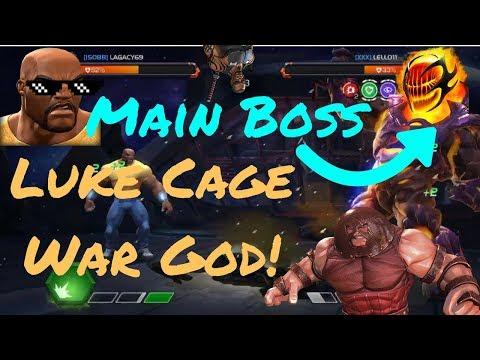 Luke Cage AW God! Dormmamu Boss Fight! - Marvel Contest Of Champions