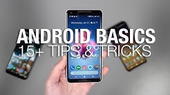 15+ Android Tips and Tricks: THE BASICS!