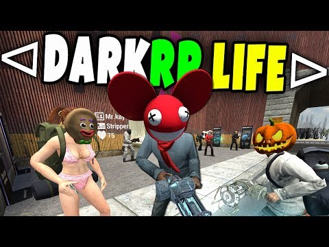 Whole Server Raids Me! - GMOD DarkRP Life (EP 7) Trying To Build An Unraidable Base