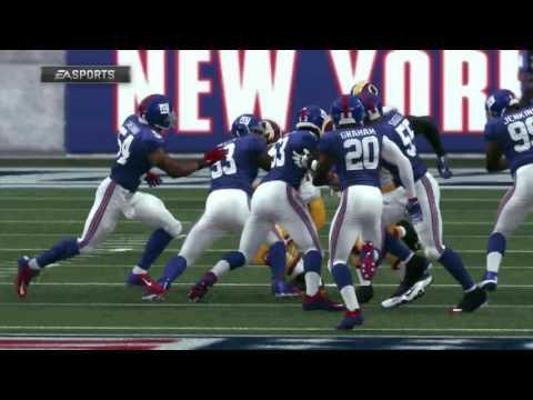Franchise Mode: Madden NFL 17 - Part 9 - Week 3: Redskins Vs. Giants