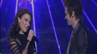 "Kylie Minogue & Reece Mastin sing ""Kids"" on X Factor Australia 2011 Grand Final"