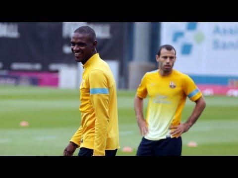 FC Barcelona - Entrenament 10/05/2013