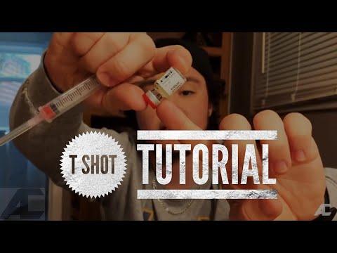How I Do My T Shot | Testosterone Shot Tutorial FTM