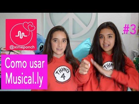COMO USAR MUSICAL.LY PREGUNTAS #3 V113 Xime Ponch