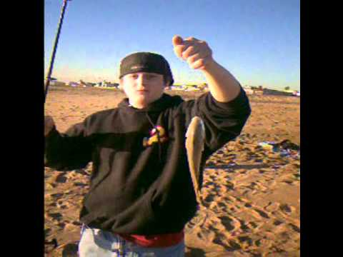 Day 2 surf fishing seal beach california youtube for Seal beach fishing
