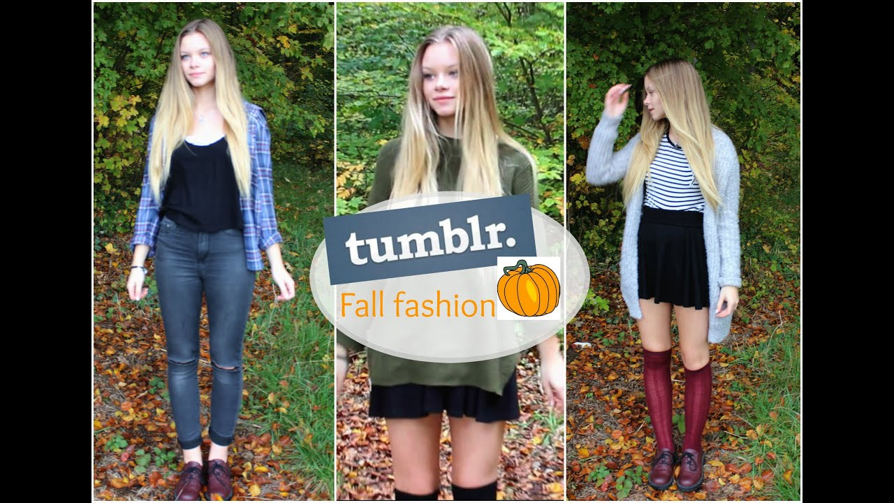 Tumblr Herbst Outfits Connyland Youtube