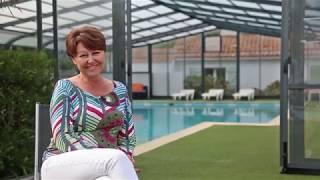 Abri de piscine professionnel :  témoignage du Domaine des Renardières