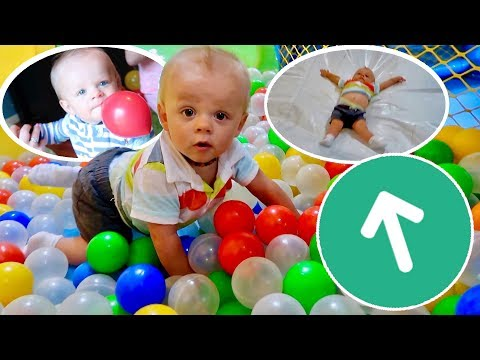 🎉BROOKS TURNS ONE! Balloon🎈Ball Pit 🔵 Huge Slide🎢 Surprise!🎉