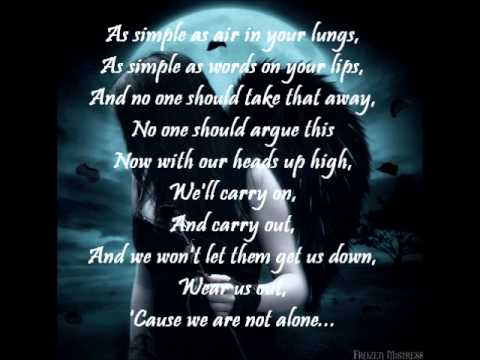 Delain - We Are The Others (lyrics on screen)