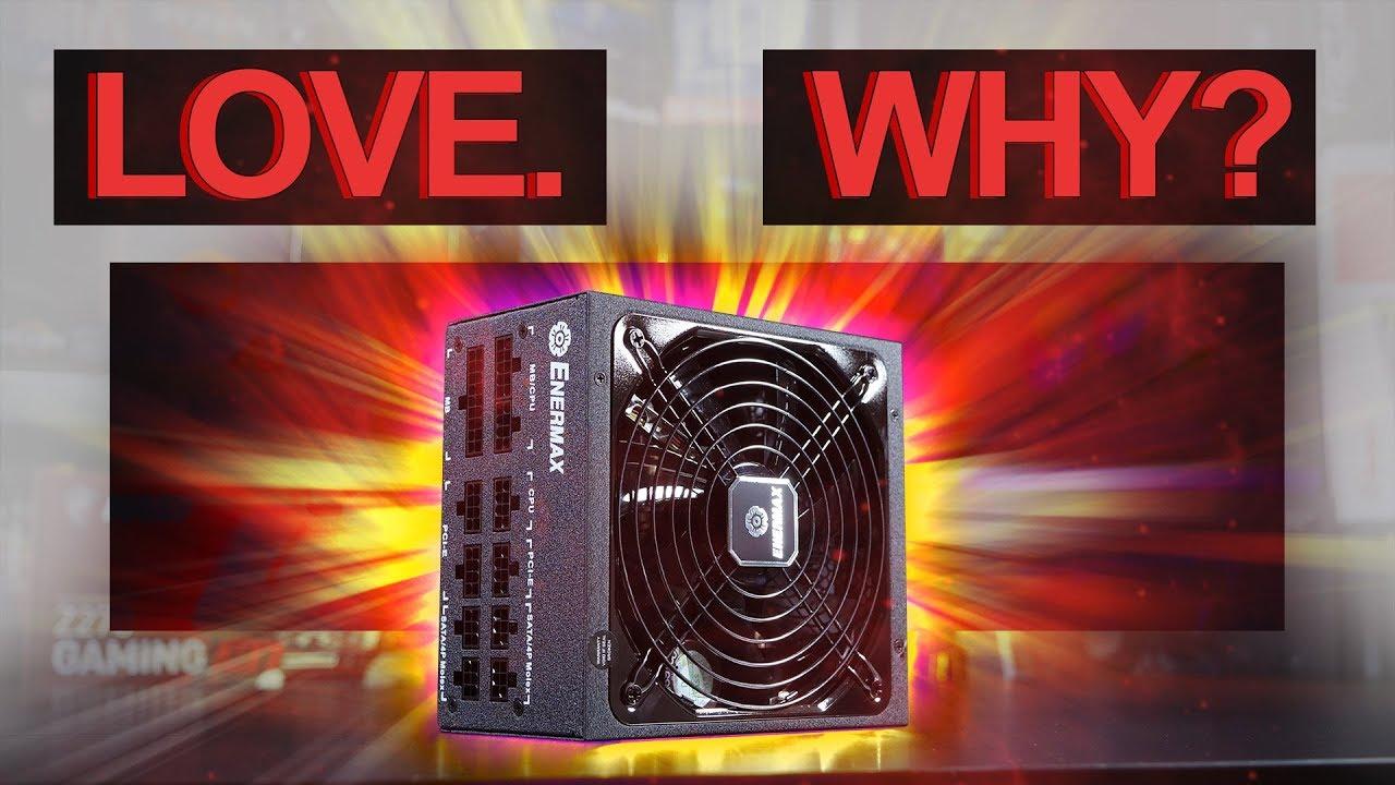 Gold Certified Power Supply; ERF850EWT Enermax Revolution D.F 850W 80