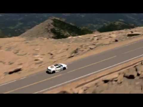 The 2017 Acura NSX Wins at Pikes Peak International Hill Climb