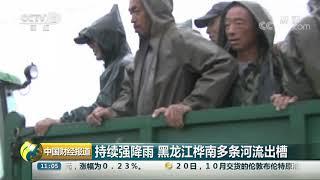 [中国财经报道]持续强降雨 黑龙江桦南多条河流出槽| CCTV财经