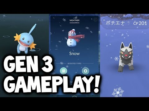 NEW GEN 3 EVOLUTIONS & LIVE POKÉMON GO GAMEPLAY!