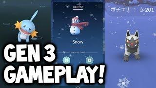 connectYoutube - NEW GEN 3 EVOLUTIONS & LIVE POKÉMON GO GAMEPLAY!