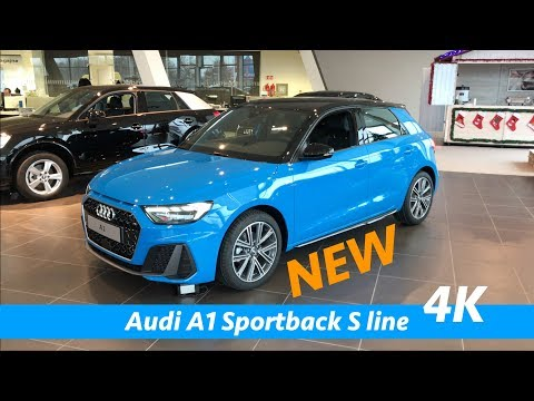 New Audi A1 Sportback S Line 2019 First Quick Look In 4k Interior