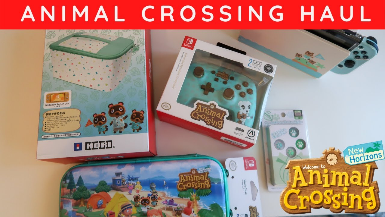 Animal Crossing Accessories for the Nintendo Switch | Hori ...