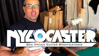 Nylocaster Factory - Ben Woods Guitar Modifications