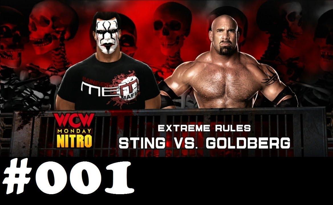 Let's play WWE 2k14 Universe Mode #001 Sting vs. Goldberg ...