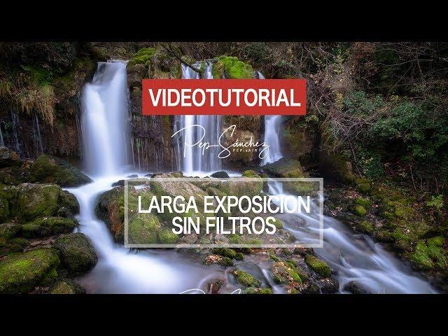 Como hacer fotografías de larga exposición sin filtros con tu dron