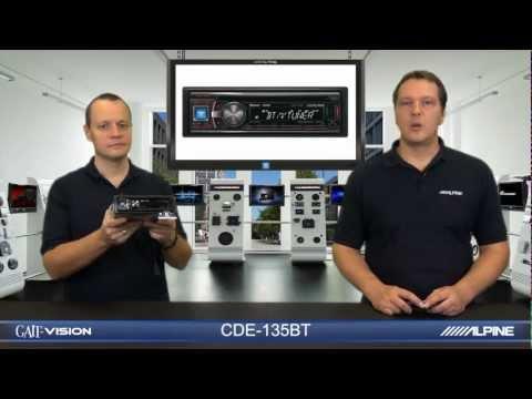 Alpine CDE-135BT (Internet Radio Receiver) with vTuner for Alpine