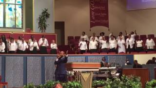 "Jj Hairston Sing ""You Deserve It"" at The First Cathedral"