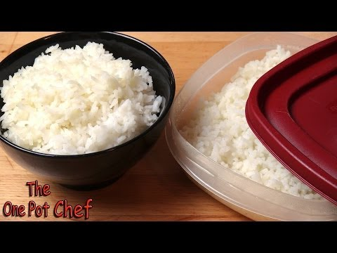 Quick Tips: Freezing and Reheating Cooked Rice | One Pot Chef