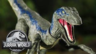 Jurassic Files: Owen Gets The Blues | Jurassic World | Mattel Action!