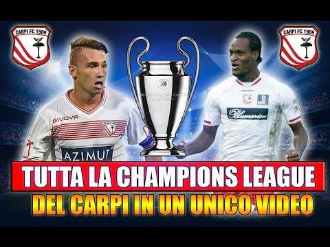 TUTTA LA CHAMPIONS LEAGUE CON IL CARPI IN UN UNICO VIDEO!! [By Giuse360]