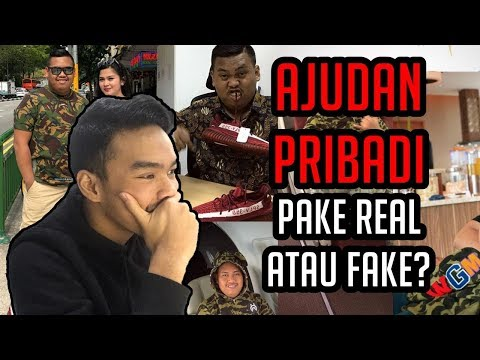 REACTION AJUDAN PRIBADI PAKE BARANG HYPE ASLI ATAU KW? - #HuntingFake