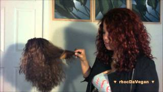 How I Cut MY Curly Wigs (Medium Length) Explained