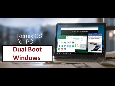Remix Os Dual Boot Windows 7