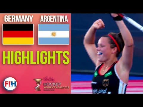 Germany v Argentina | 2018 Women's World Cup | HIGHLIGHTS
