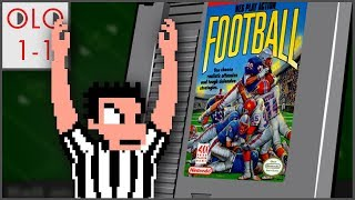NES Play Action Football - NES - Only Level One