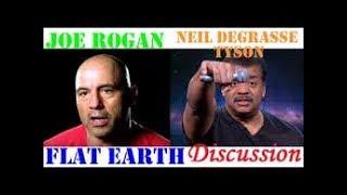 Flat Earth: Joe Rogan & Neil deGrasse Tyson Globe Shilling Exposed